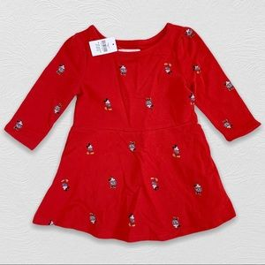 Gap x Disney | Minnie + Mickey Skater Dress 18-24m